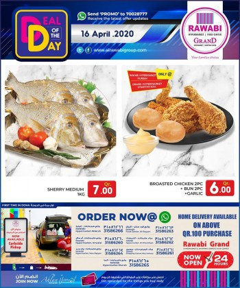 Rawabi Hypermarket Rawabi Hypermarket Deal Of The Day 16 April 2020