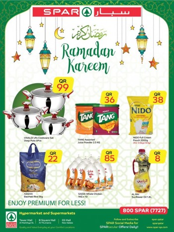 SPAR Spar Hypermarket Ramadan Kareem Offers