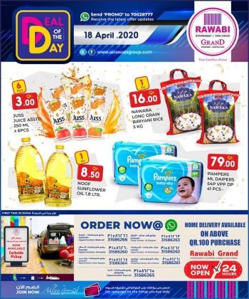 Rawabi Hypermarket Rawabi Hypermarket Deal Of The Day 18 April 2020