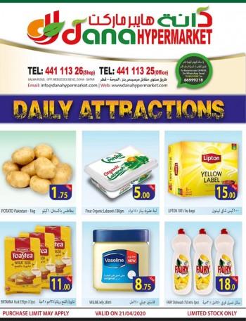 Dana Hypermarket Dana Hypermarket Daily Attractions 21 April 2020