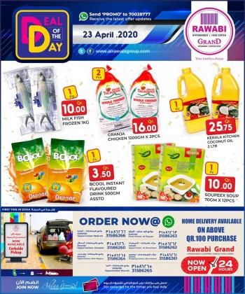 Rawabi Hypermarket   Rawabi Hypermarket Deal Of The Day 23 April 2020