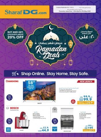 Sharaf DG Ramadan Deals