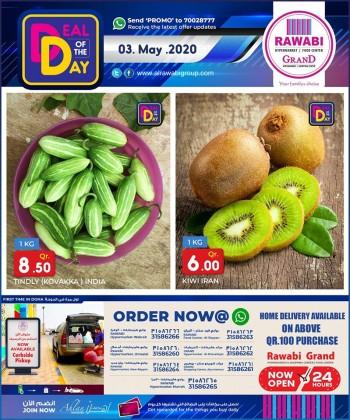 Rawabi Hypermarket Rawabi Hypermarket Deal Of The Day 03 May 2020