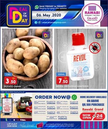 Rawabi Hypermarket Rawabi Hypermarket Deal Of The Day 06 May 2020