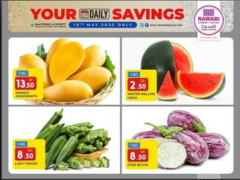 Rawabi Hypermarket Rawabi Hypermarket Deal Of The Day 19 May 2020