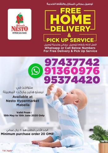 Nesto Mabella Home Delivery Offers