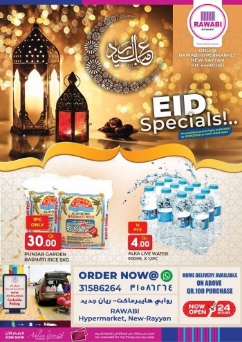 Rawabi Hypermarket EID Specials Offers
