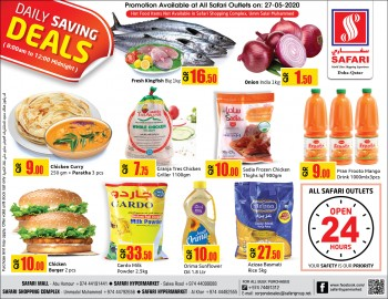 Safari Hypermarket Daily Deals 27 May 2020
