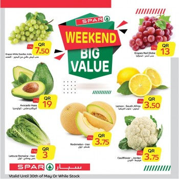 Spar Weekend Big Value Offers