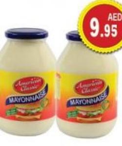 American Classic Mayonnaise 32ozx2 Al Maya Offers