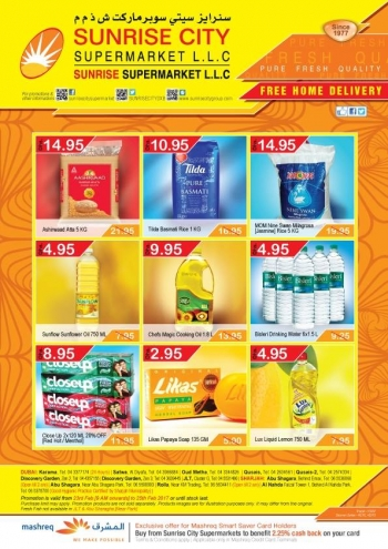 Sunrise City Supermarket Special Promotions