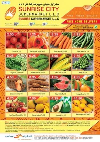 Sunrise City Supermarket Weekend Offers