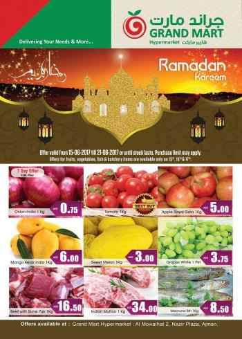Grand Mart Ramadan Kareem Weekend Offers
