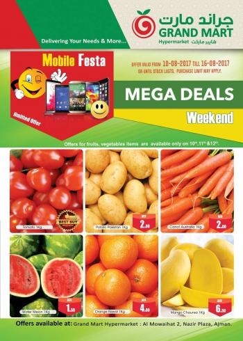 Grand Mart Mega Deals 10-16 August