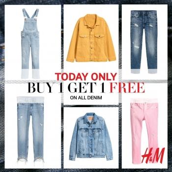 H & M Buy 1 Get 1 Free