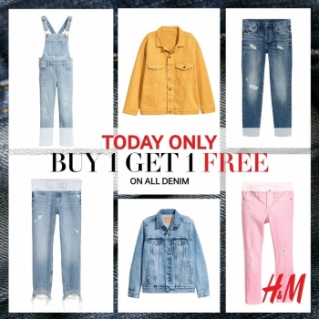 H & M Denim Buy 1 Get 1 Free
