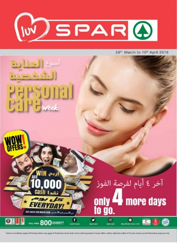 SPAR Personal Care Week Offers at SPAR