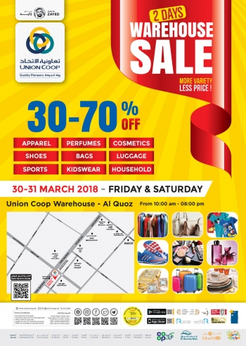 Union Cooperative Society Union Cooperative Society Warehouse Sale Offers
