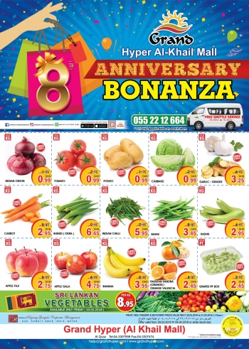 Grand Hypermarket Grand Anniversary Bonanza Offers
