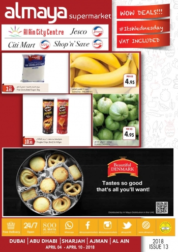 Al Maya Al Maya Supermarket Offers 4-10 April