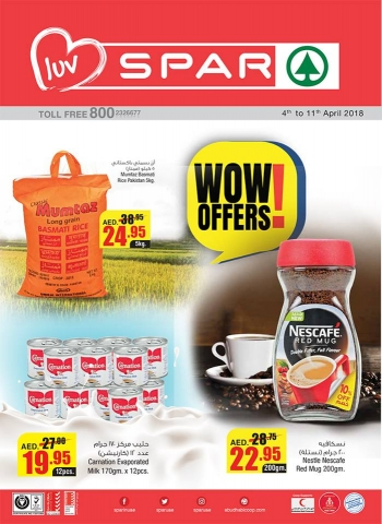 SPAR Wow Offers at SPAR