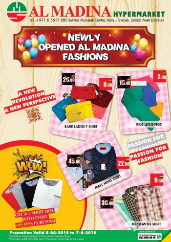 Al Madina Hypermarket Weekend Promotions at Al Madina Hypermarket