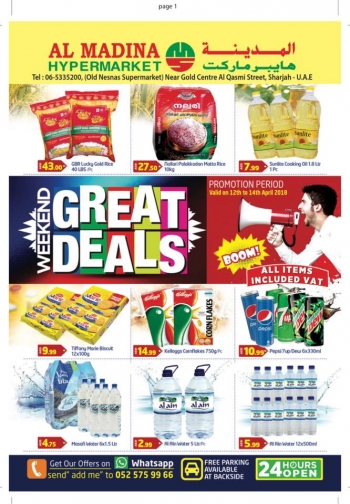 Al Madina Hypermarket Weekend Great Deals at Al Madina Hypermarket
