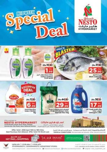 Nesto Midweek Special Deals at Nesto Hypermarket
