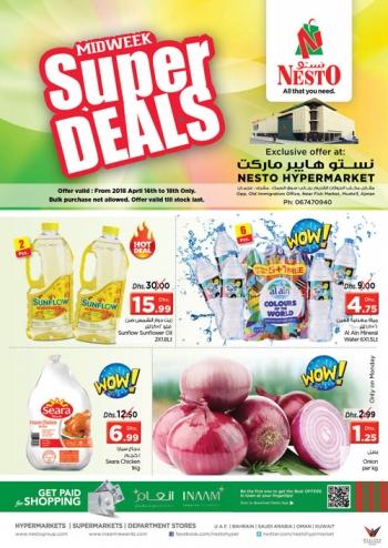 Nesto Nesto Hypermarket Mushrif Midweek Super Deals