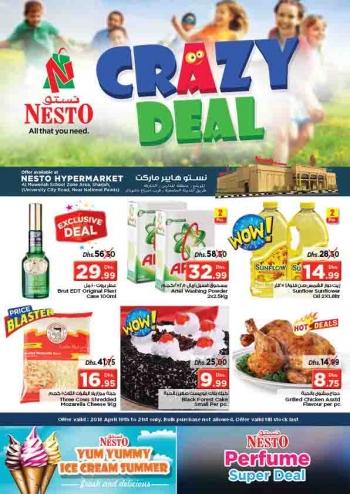 Nesto Crazy Deals  at Nesto Hypermarket Muweiliya Sharjah