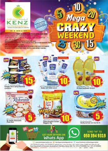 Kenz Mega Crazy Weekend at Kenz Hypermarket