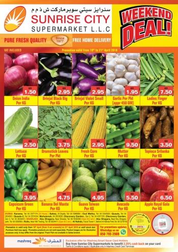 Sunrise City Supermarket Weekend Deals at Sunrise City Supermarket