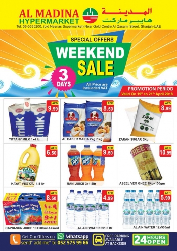 Al Madina Hypermarket Weekend Sale Special Offers