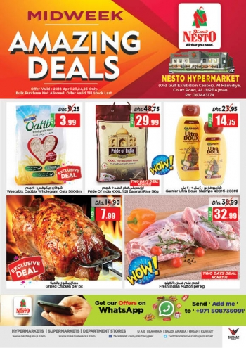 Nesto Nesto Hypermarket Midweek Amazing Deals
