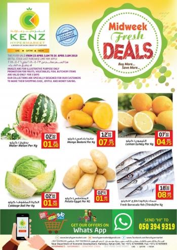 Kenz Midweek Fresh Deals at Kenz Hypermarket
