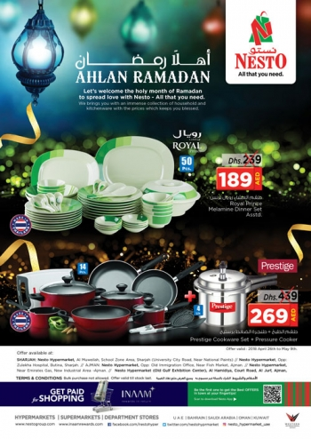 Nesto Nesto Hypermarket Ahlan Ramadan Offers