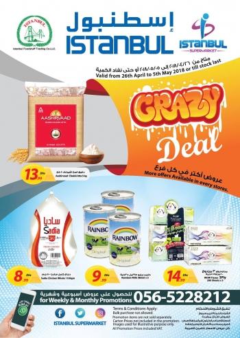 Istanbul Supermarket Crazy Deals at Istanbul Supermarket