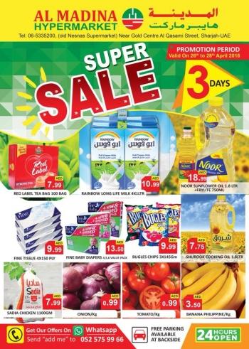 Al Madina Hypermarket Al Madina Hypermarket Super Sale Offers