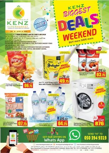 Kenz Kenz Hypermarket Biggest Weekend Deals