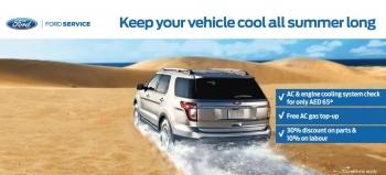 Al Tayer Motors Ford Service AC Campaign