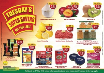 Choithrams Tuesday's Super Savers Deals