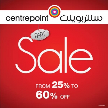 Centrepoint Centrepoint Part Sale Offers