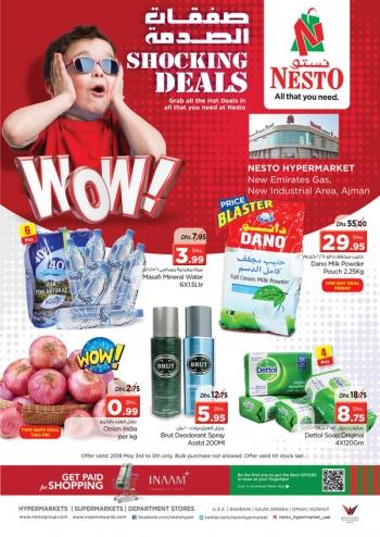 Nesto Nesto Hypermarket Shocking Deals Ajman