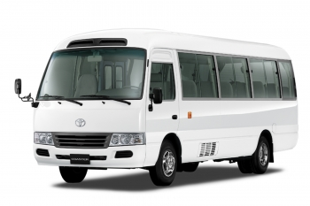 Belhasa Car Rental Belhasa Car Rental TOYOTA COASTER @ AED 5100 Per Month