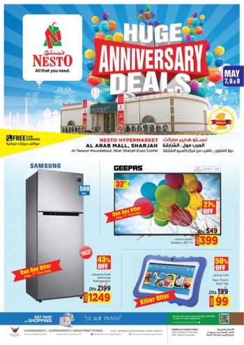 Nesto Nesto Hypermarket Huge Anniversary Deals