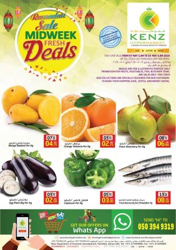 Kenz Ramadan Sale Midweek Fresh Deals