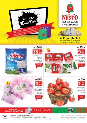 Nesto Wonder Deals at Nesto Hypermarket Fujairah