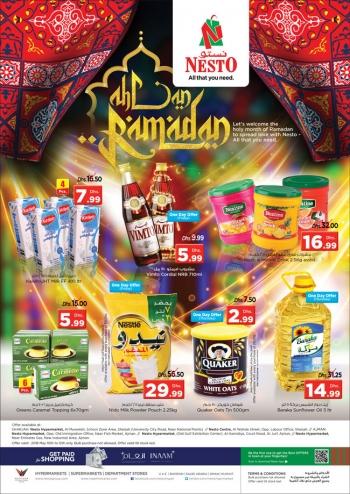 Nesto Ahlan Ramadan Offers at Nesto Hypermarket