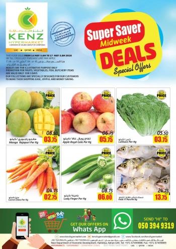 Kenz Kenz Super Saver Midweek Deals