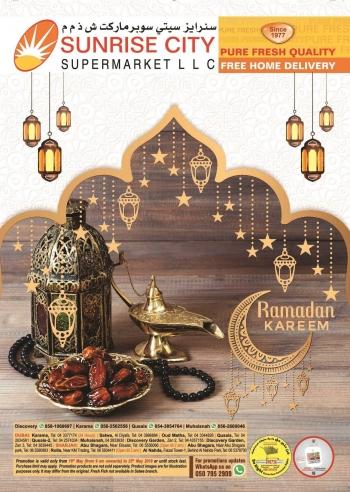 Sunrise City Supermarket Sunrise City Supermarket Ramadan Offers